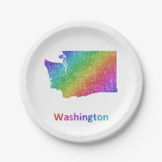 Washington Paper Plate