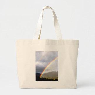 washington rainbow canvas bag