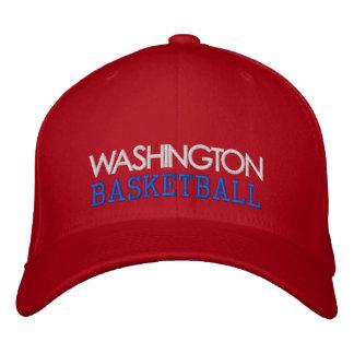WASHINGTON Red Basketball Cap Embroidered Baseball Caps