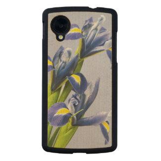 Washington, Redmond, Purple Irises Carved® Maple Nexus 5 Case
