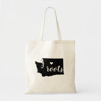 Washington Roots State Tote Bag