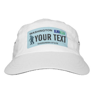 Washington Sasquatch License Plate Hat
