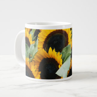 Washington, Seattle, Sunflower for sale pike Jumbo Mug