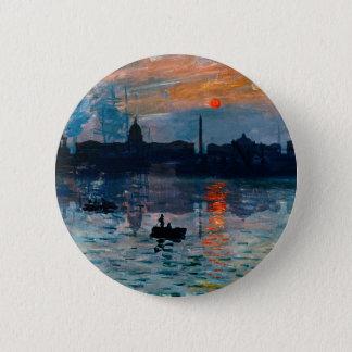 Washington Skyline1 6 Cm Round Badge