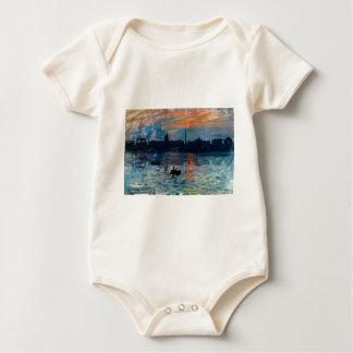Washington Skyline1 Baby Bodysuit