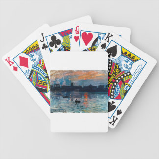 Washington Skyline1 Bicycle Playing Cards