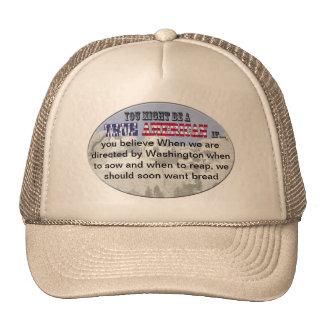 washington sow reap bread cap