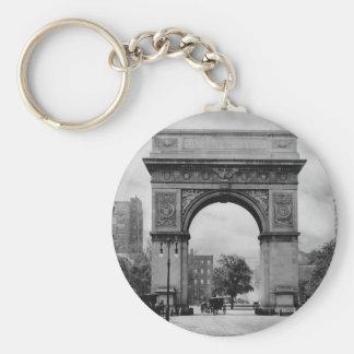 Washington Square Arch Key Ring
