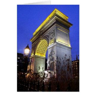 Washington Square Card