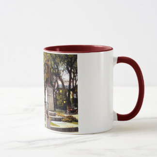 Washington St., Watertown, NY 1917 Vintage Mug
