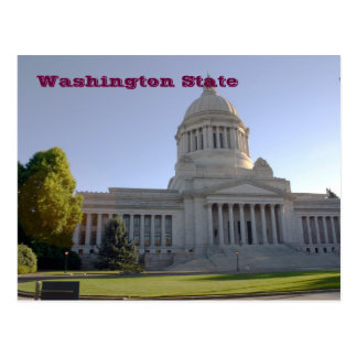 Washington State Capitol, Washington State Postcard