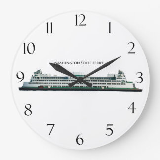Washington State Ferry Large Clock