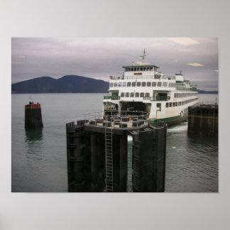 Washington State Ferry Poster