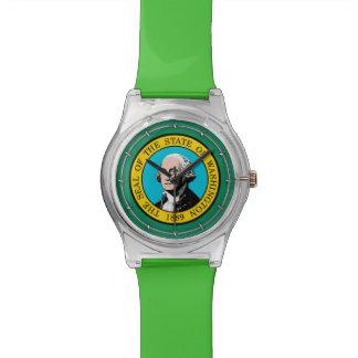 Washington State Flag Design Watches