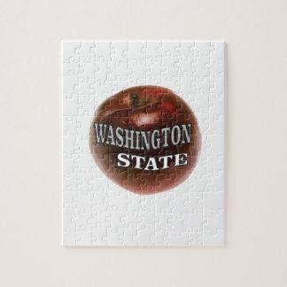 Washington state red apple jigsaw puzzle