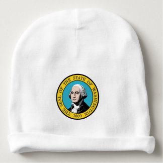 Washington state seal america republic symbol flag baby beanie