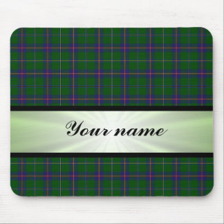 Washington State Tartan With Ribbon Mouse Pad
