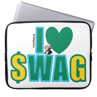 Washington Swag (on a bright) Laptop Computer Sleeves