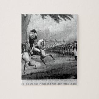 Washington Taking Command of_War Image Puzzle