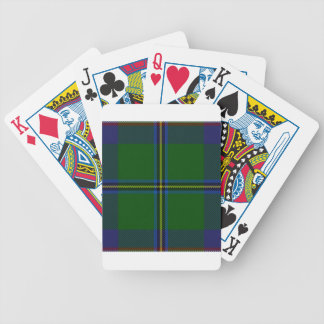 Washington-tartan Bicycle Playing Cards