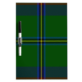Washington-tartan Dry Erase Boards