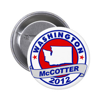 Washington Thad McCotter Pinback Button