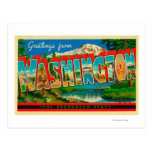 Washington - The Evergreen State Post Cards