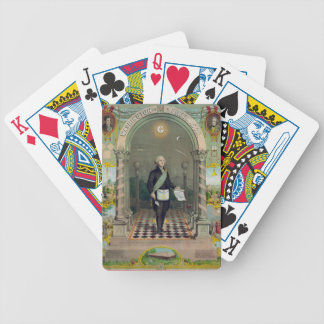 Washington The Mason Bicycle Playing Cards