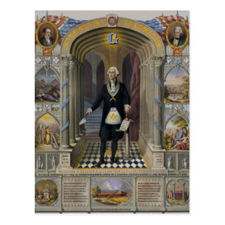 Washington The Mason II Postcard