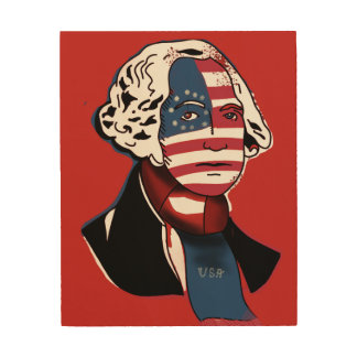 Washington the Ultra Woodprint Wood Wall Decor