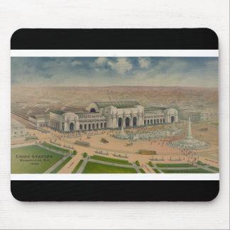 Washington Union Station 1906 Mouse Pad