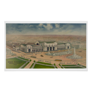 Washington Union Station 1906 Poster