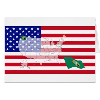 Washington, USA Card