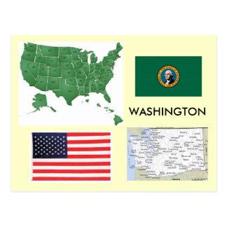 Washington, USA Postcard