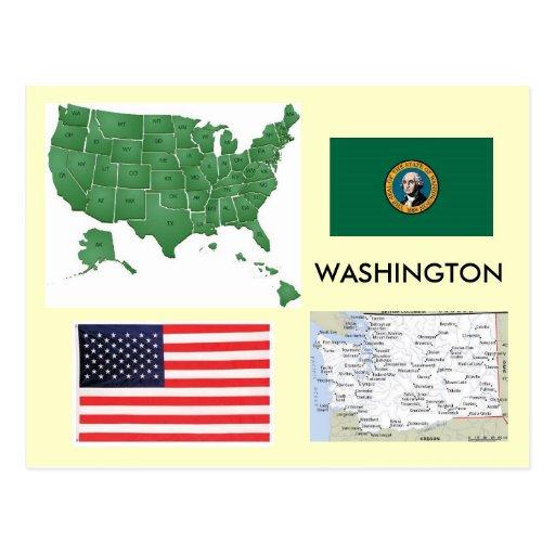 Washington, USA Postcards