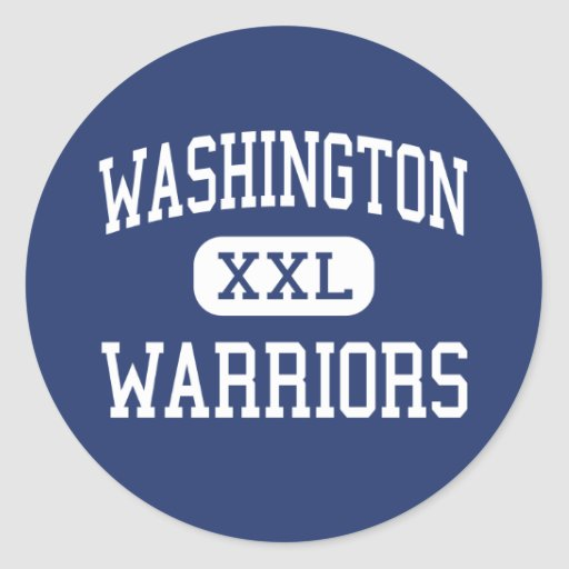 Washington Warriors Middle Springfield Sticker