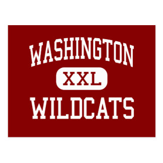 Washington - Wildcats - High - Kansas City Kansas Postcard