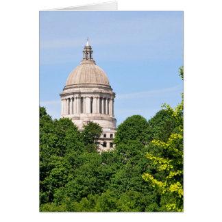 Washington's State Capitol Card