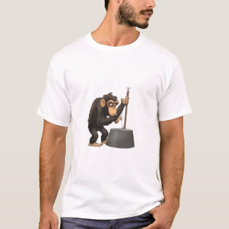 Washtub-Bass-Playin' Chimp Shirt