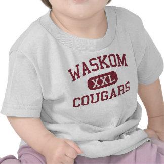 Waskom - Cougars - Middle School - Waskom Texas T Shirts