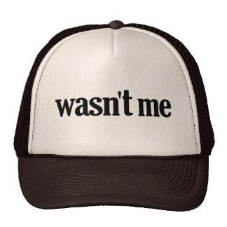 Wasn't Me Hat
