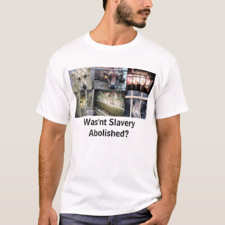 Wasn't Slavery Abolished? T-Shirt