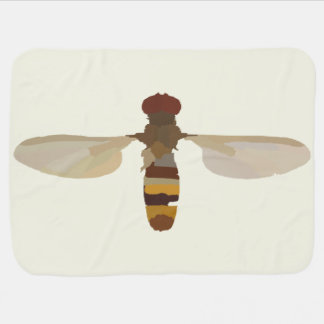 wasp bee insect nature science animal cute yellow pramblankets