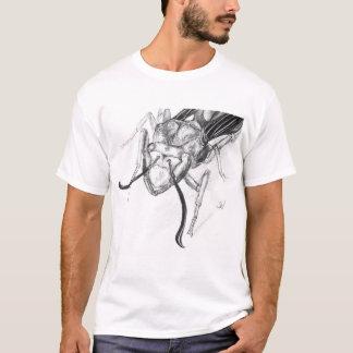 Wasp Drawing T Shirt