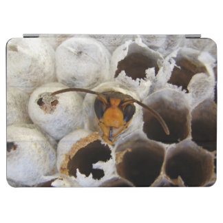 Wasp Emerging From Nest iPad Cover