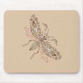 Wasp Mouse Pad
