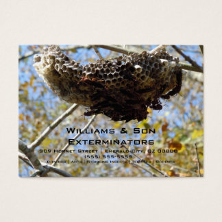 Wasp Nest! Yikes! Business Card