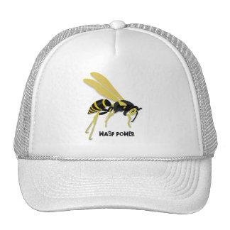 WASP POWER TRUCKER HATS
