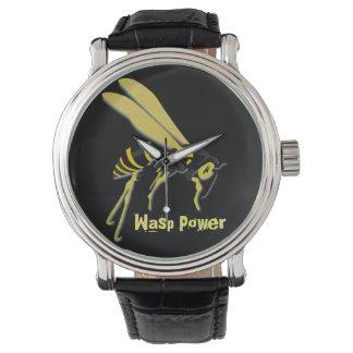 """WASP POWER MEN""""S WATCH"""