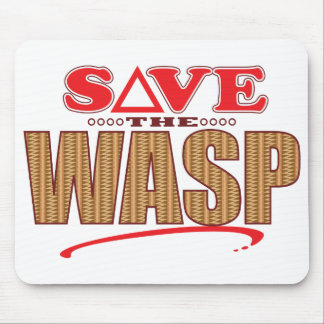 Wasp Save Mouse Pad